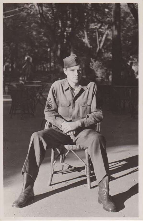 Gordon Markle, lived in Brookfield and served with the Army Air Corps in the Middle East, North Africa, the Mediterranean and Italy during World War II. Photo: / Contributed Photo