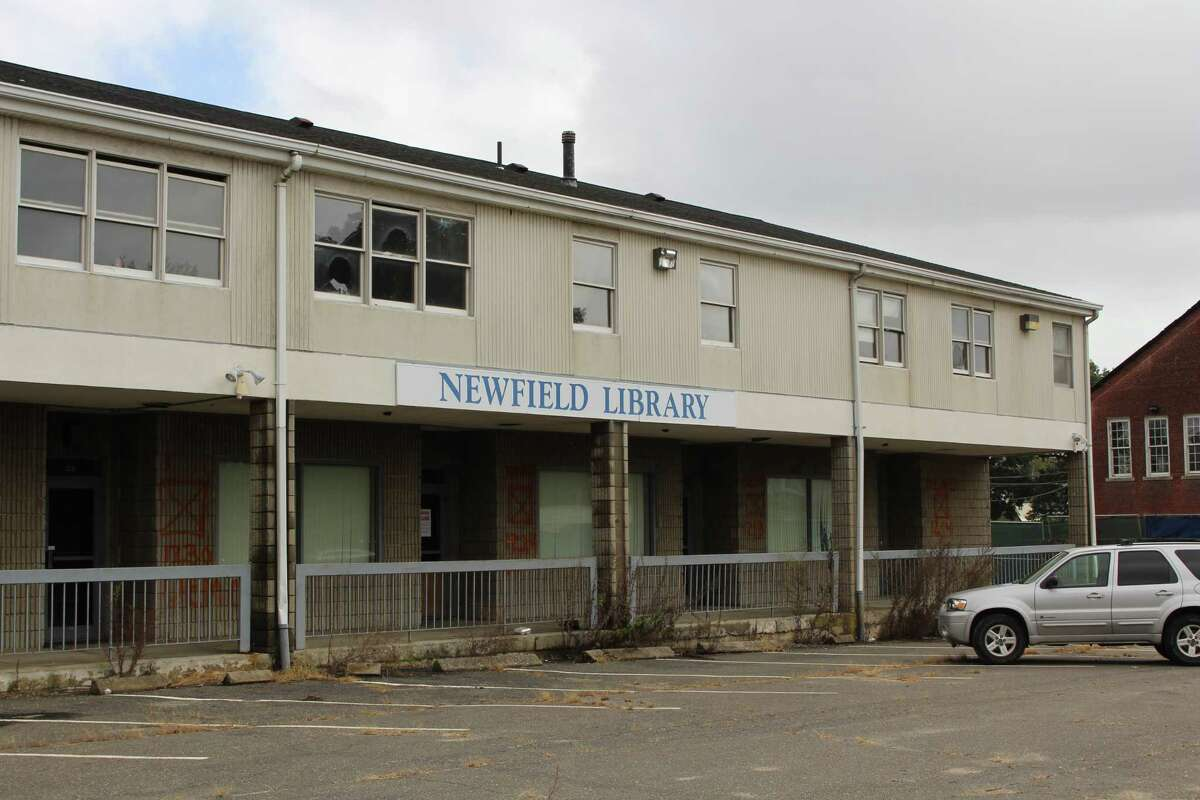 The former Newfield Library site in Bridgeport's east end is expected to be demolished to make way for a new shopping plaza