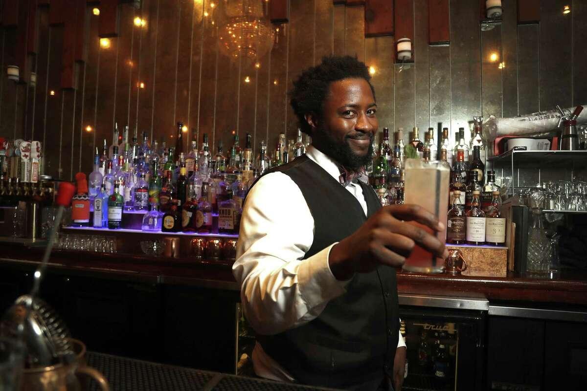 Sebastian Williams Hearsay Gastro Lounge Ask him to make you a BB King.