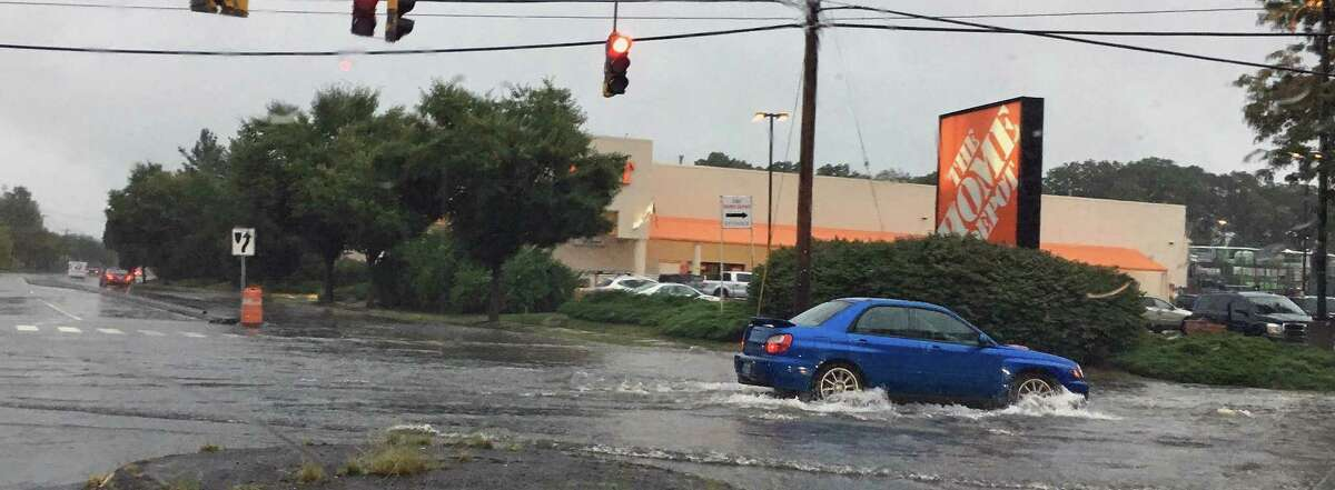 Trying to find intersections that weren't flooded was tricky at the height of Tuesday's rain storm.