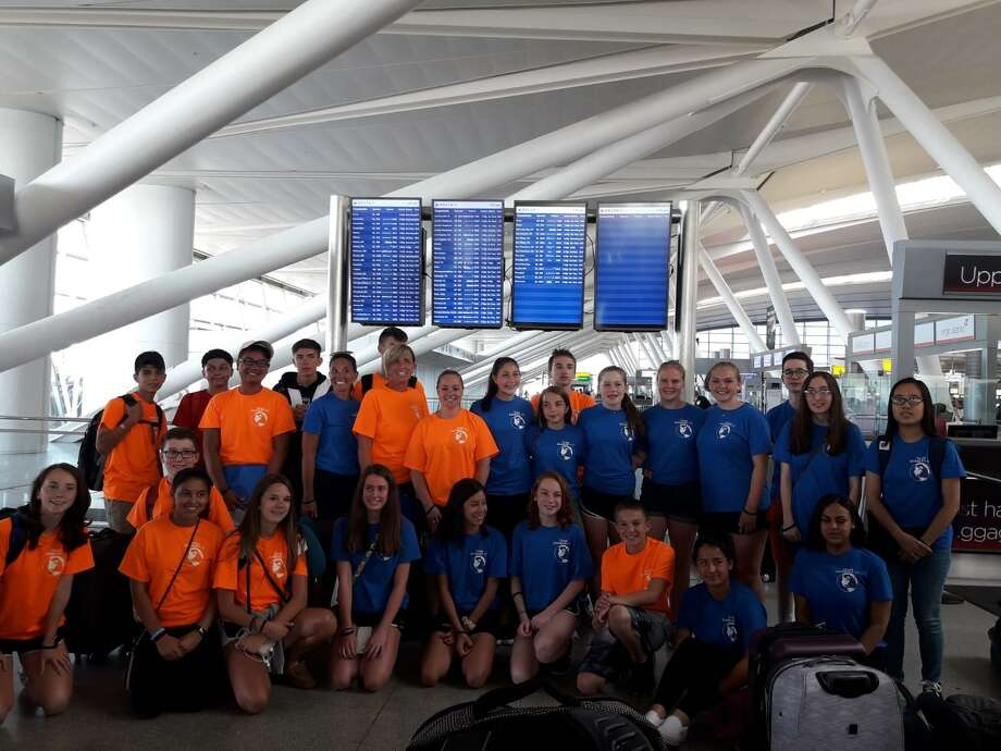 Team Danbury before departing for London. Photo: /Contributed Photo.