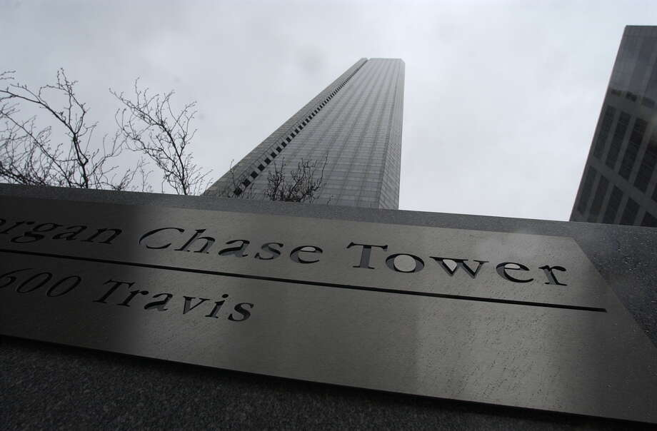 Chase Bank is exiting its namesake tower at 600 Travis.  >>DID YOU KNOW? What Houston's tallest skyscrapers are named after Photo: Houston Chronicle