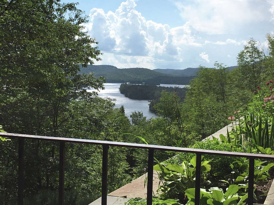 View of Blue Mountain Lake from Adirondack Experience. Photo: Eric Anderson / Times Union
