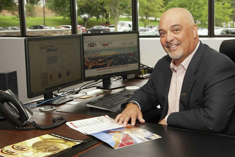 Ross Bacarella, CEO of BTX Global Logistics in Shelton Photo: Courtesy Of BTX Global Logistics / Fred Ortoli Photography / Copyright Fred Ortoli Photography