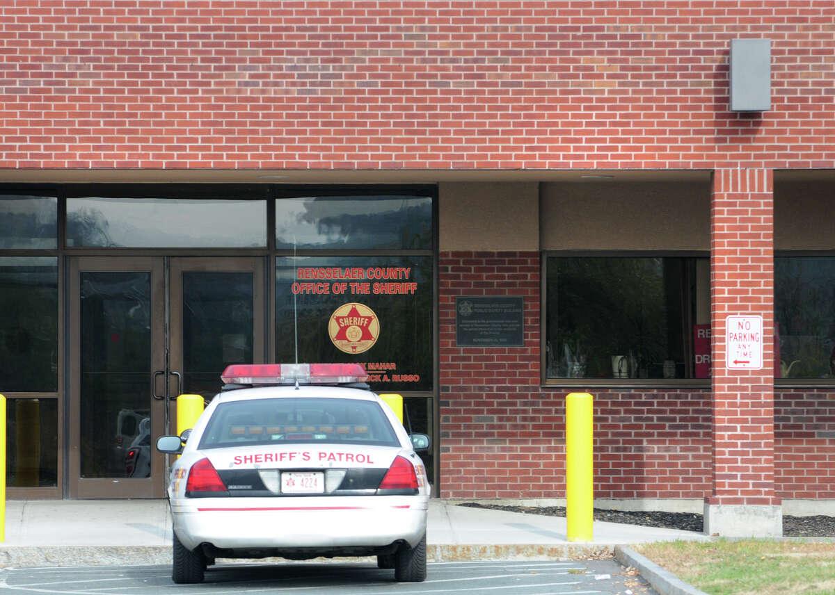 Exterior of the Rensselaer County Jail in Troy, N.Y. Thursday, Nov. 3, 2011. (Lori Van Buren / Times Union