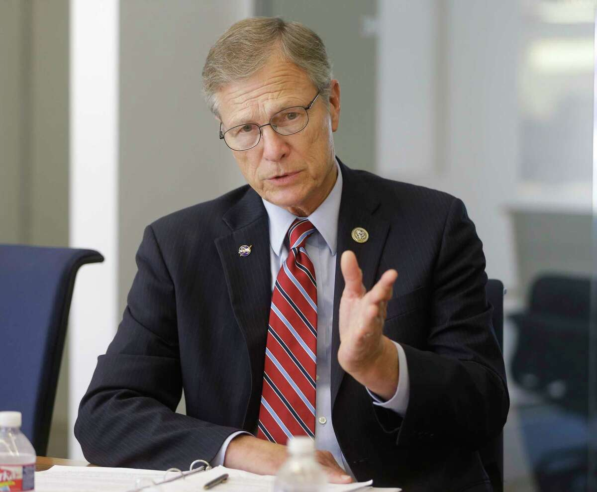 Congressman Brian Babin, the incumbent candidate for the Texas Congressional District 36, is shown Wednesday, Sept. 19, 2018, in Houston.