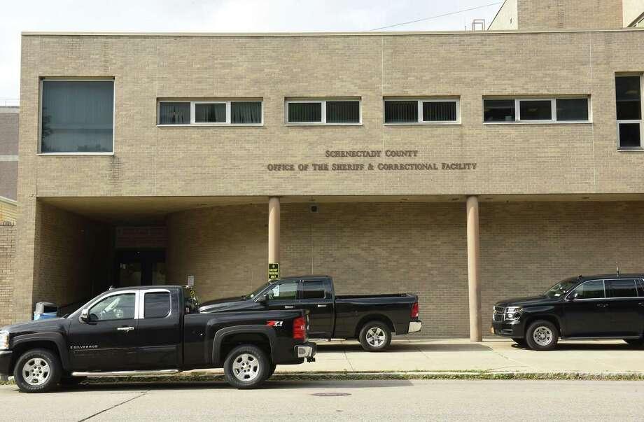 Exterior of the Schenectady County Jail on Wednesday, Sept. 26, 2018 in Schenectady, N.Y. (Lori Van Buren/Times Union) Photo: Lori Van Buren, Albany Times Union / 20044954A