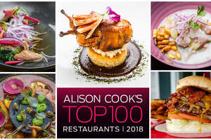Graze through this delicious gallery to see Alison Cook's Top 100 Restaurant list for 2018. We count down the top 30 and finish off the list in alphabetical order.