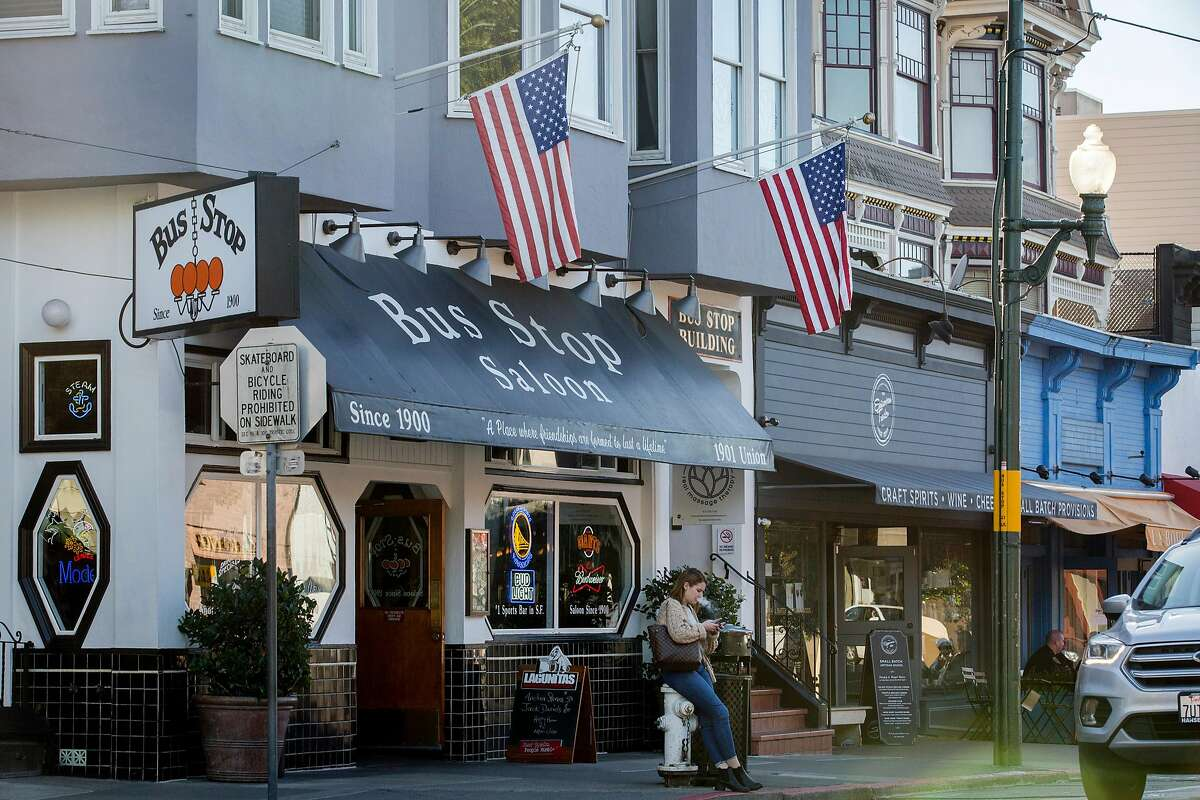 The Cow Hollow neighborhood of San Francisco has seen home values decline by more than 11% since January 2020, based on a Chronicle analysis of Zillow data.