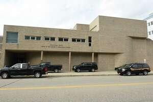 Exterior of the Schenectady County Jail on Wednesday, Sept. 26, 2018 in Schenectady, N.Y. (Lori Van Buren/Times Union)
