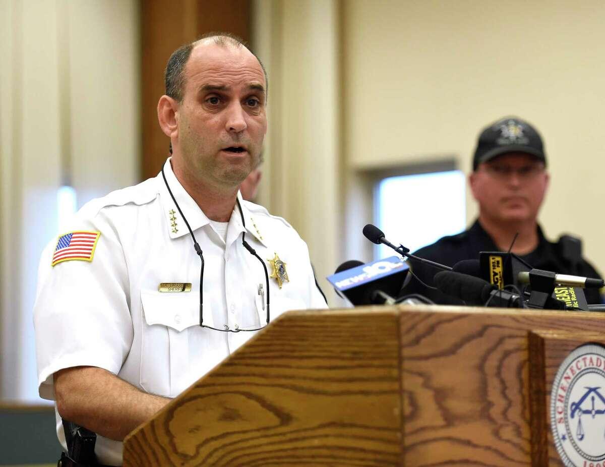 Schenectady County Sheriff Dom Dagostino (2015) (Times Union file photo)