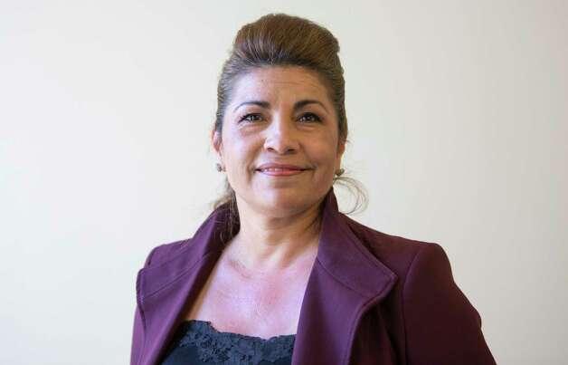 Ava Reynero Pate (R), candidate for US 18. Photo: Jill Karnicki, Staff Photographer / Houston Chronicle