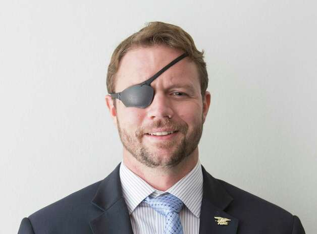 Dan Crenshaw (R) is a candidate for the Texas Congressional District 2. Photo: Ana GoÒu-Lessan, Contributor / Houston Chronicle