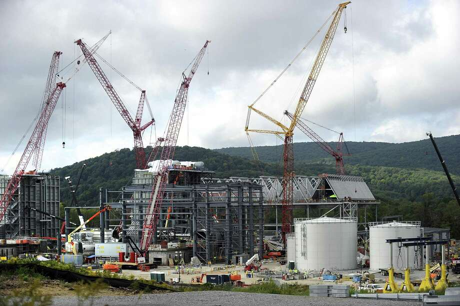 Cricket Valley Energy Center is under construction in Dover Plains, N.Y., prompting concerns and outrage from nearby Connecticut residents. Photo: Carol Kaliff / Hearst Connecticut Media / The News-Times
