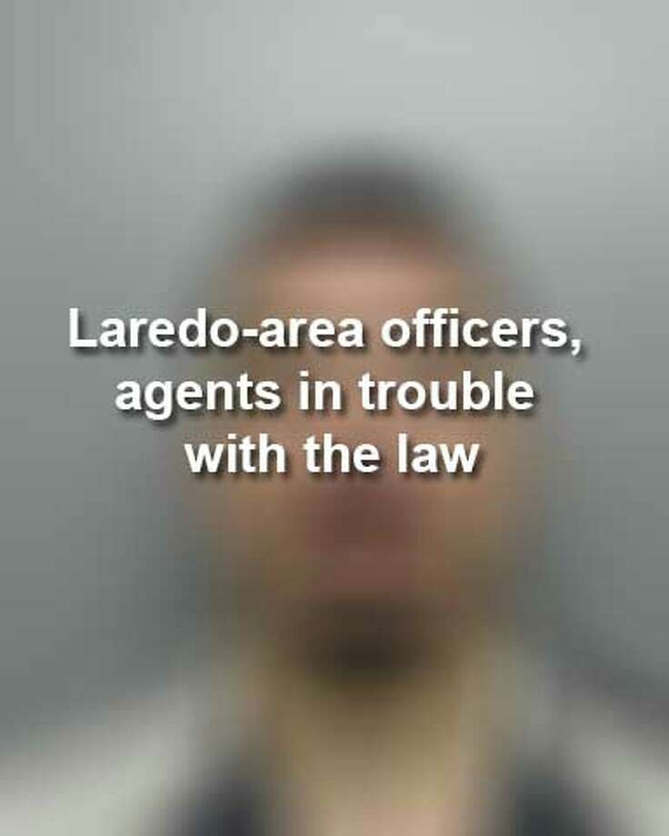 Keep scrolling to see Laredo-area officers and Border Patrol agents who have been in trouble with the law this year. Photo: Webb County Sheriff's Office