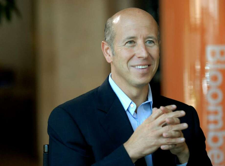 Barry Sternlicht, chairman and chief executive officer of Greenwich-based Starwood Capital Group, speaks at the Milken Institute's 2006 Global Conference in Beverly Hills, California, April 26, 2006.  Starwood Capital is leader of an investor group that bought the rights to casino operator Riviera Holdings' secured debt earlier this year.  If the casino's pre-packaged bankruptcy, filed Monday, wins approval, Starwood may control the casino company.  Photographer: Jamie Rector/Bloomberg News. Photo: Jamie Rector, BLOOMBERG NEWS