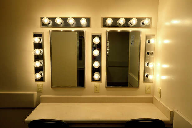 A dressing room at the Jefferson Theatre. The theater is getting ready to reopen after being closed for repairs for the summer. Photo taken Tuesday 9/25/18 Ryan Pelham/The Enterprise