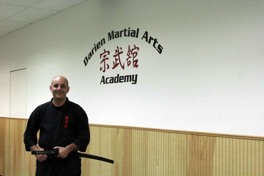 Andrew Scala, sensei at Darien Martial Arts Academy. Photo: /Lynandro Simmons /Hearst Connecticut Media