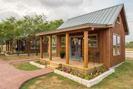 Country Tiny House Where: Waco Average price per night: $124 Sleeps: 4 Price per person: $31