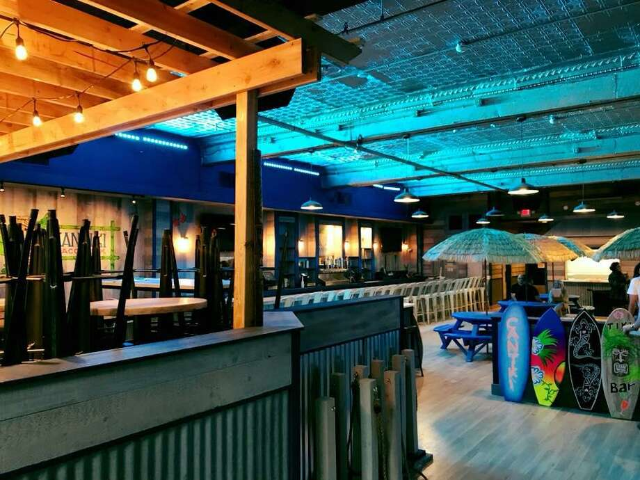 The interior of the new Cantiki Taco Deck at 80 Washington St. in Norwalk, Conn., with a grand opening scheduled for Oct. 10, 2018. (Photo via Cantiki Taco Deck)