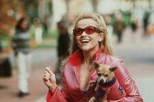 """LEGALLY BLONDE - Reese Witherspoon. HOUCHRON CAPTION (05/13/2001): Reese Witherspoon stars in """"Legally Blonde,"""" opening July 13. HOUCHRON CAPTION (07/08/2001): Reese Witherspoon goes legally Blonde at Houston theaters Friday. HOUCHRON CAPTION (07/12/2001): There's a sharp legal mind beneath Reese Witherspoon's fair tresses in Legally Blonde."""