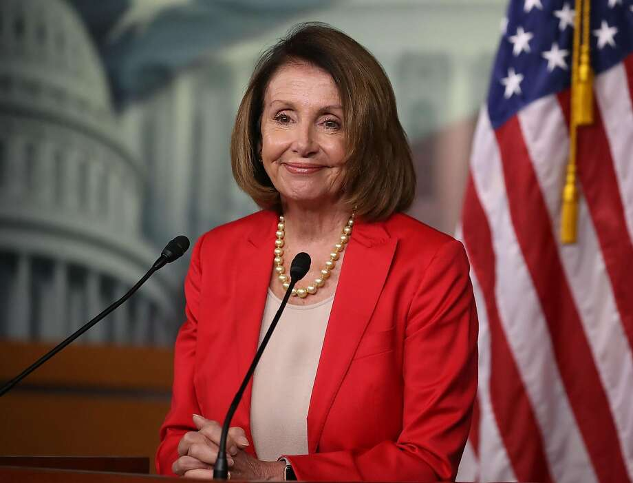 Recent polls show voters don't care much about candidates' views on House Minority Leader Nancy Pelosi. Photo: Mark Wilson / Getty Images