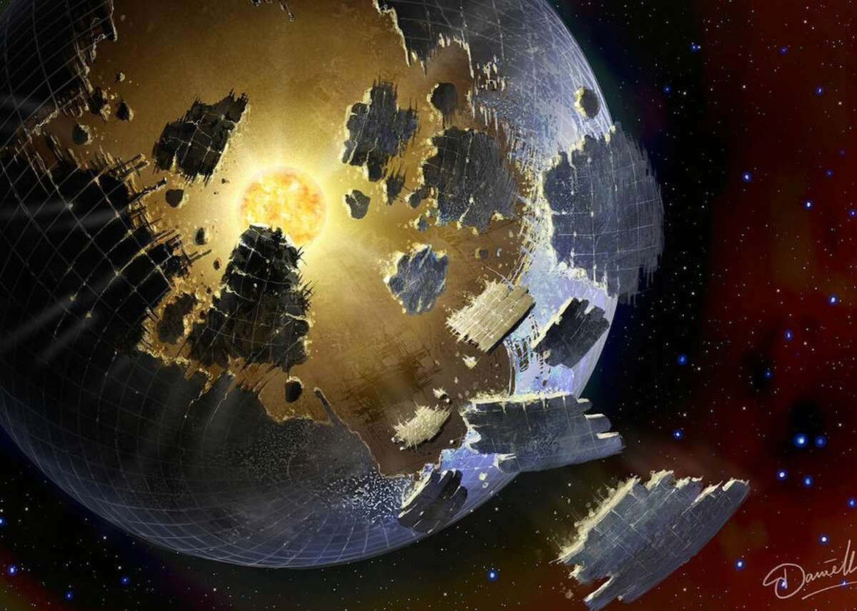 Something weird is going on around the distant star KIC 8462852, also known as Boyajian's Star. After a few years of research, no one knows for sure what's happening, but one explanation that's yet to be completely ruled out is the far-out notion that a highly advanced society is building insanely huge megastructures in space that obstruct the star. Gulp.