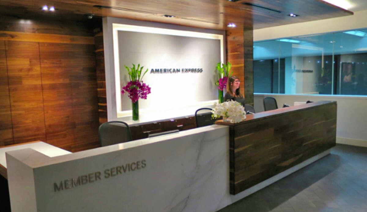 American Express' Centurion Lounge at San Francisco International.