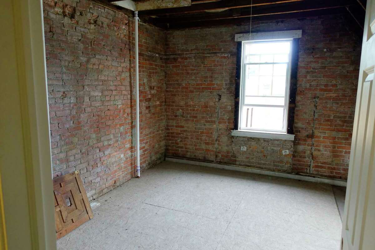 AFTER: A view of an unfinished room inside of 2 Judson Street on Thursday, Sept. 27, 2018, in Albany, N.Y. This property is being rehabbed by the Albany County Land Bank which will then sell it. (Paul Buckowski/Times Union)