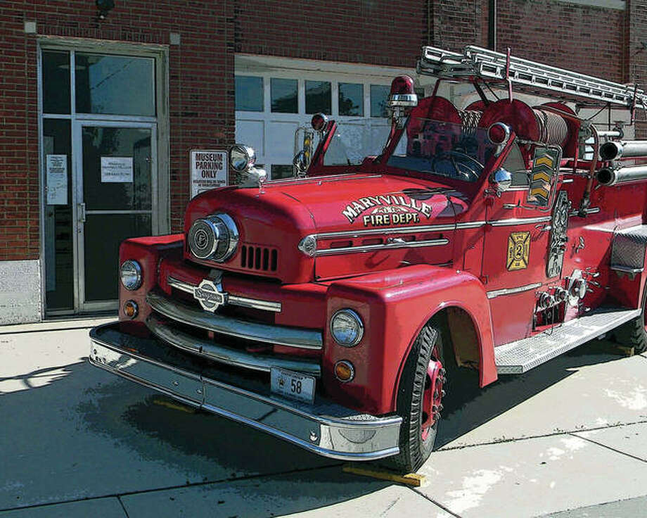 Maryville's 1958 fire truck Photo: For The Intelligencer