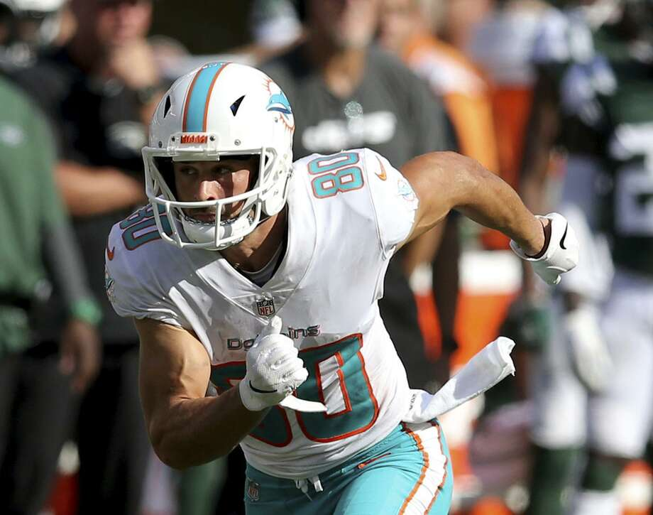 The Woodlands graduate and 11-year NFL veteran Danny Amendola signed a one-year contract with the Detroit Lions on Monday. Photo: Brad Penner, FRE / Associated Press / Panini