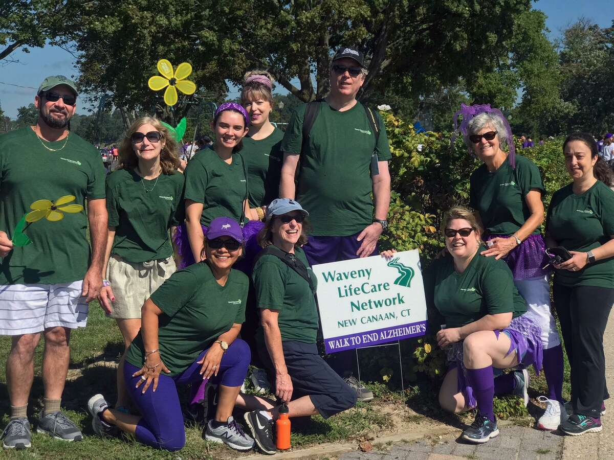 Waveny LifeCare Network?'s 2018 Walk to End Alzheimer?'s team, the ?