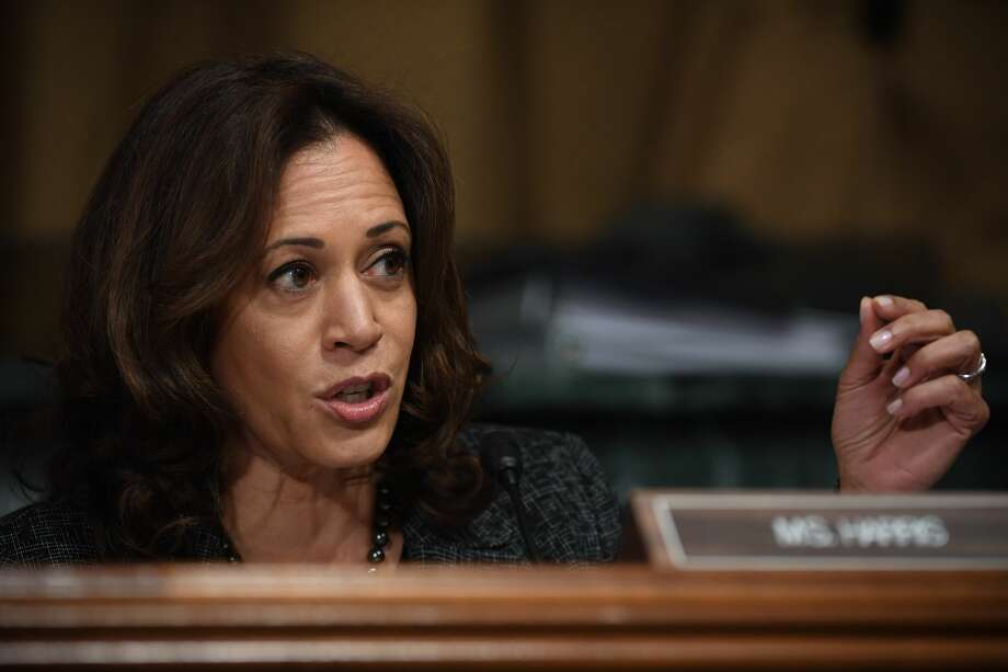 Sen. Kamala Harris, D-Calif., is a rising star in the Democratic party. Click through the gallery for facts you might not know about her. Photo: Pool/Getty Images