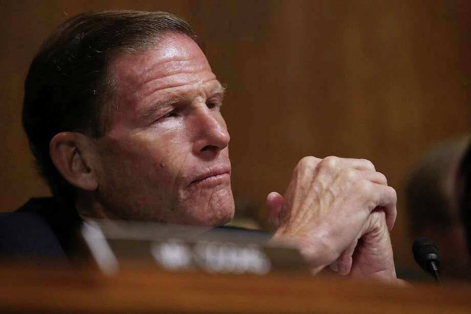 U.S. Senator Richard Blumenthal (D-Conn.) has been critical of the A.G. appointment, but so have others — on both sides of the aisle — who question Whitaker's qualifications and whether he would limit the investigation or bury its findings. Photo: Win McNamee / TNS / Abaca Press
