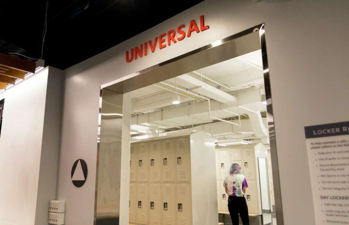 UC Berkeley's Recreational Sports Facility, or RSF, opened a gender-inclusive universal locker room Wednesday morning at 6 a.m., featuring 16 private changing rooms and seven private showers. The locker room is about 4,500 square feet, making it the largest universal locker room in California. Along with the private changing rooms and showers, there are five private toilets, two of which are accessible under the Americans with Disabilities Act, or ADA, and one with an adult changing table.