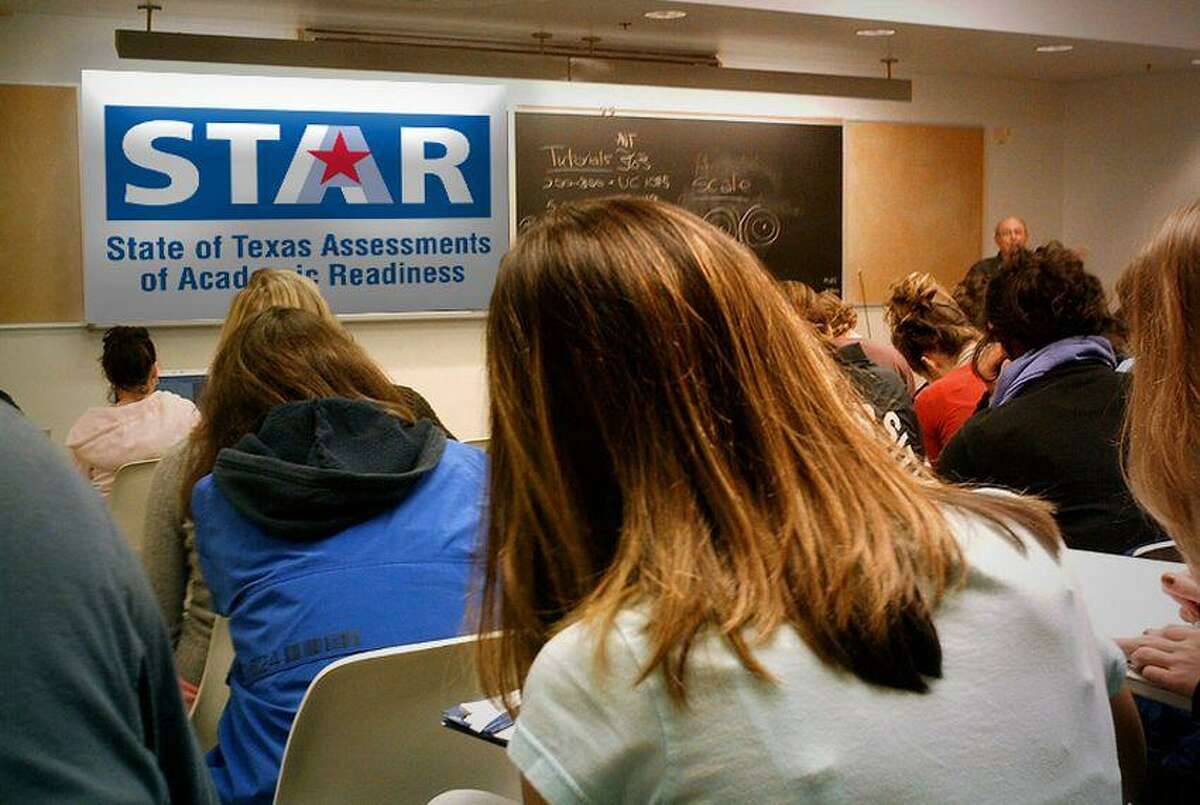 A majority of students at the top-rated high schools in Texas are likely to need remedial course work when they get to college because they don't score well enough on entrance exams, a Hearst Newspapers analysis of newly released school accountability data shows.