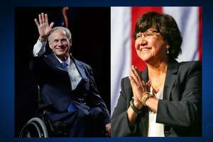 Republican Gov. Greg Abbott and Democratic gubernatorial candidate Lupe Valdez will meet in a televised debate Friday.