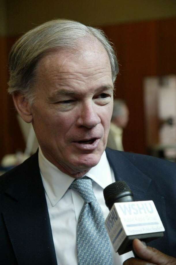 Gubernatorial candidate and Greenwich resident Tom Foley. Photo: File Photo / Connecticut Post File Photo