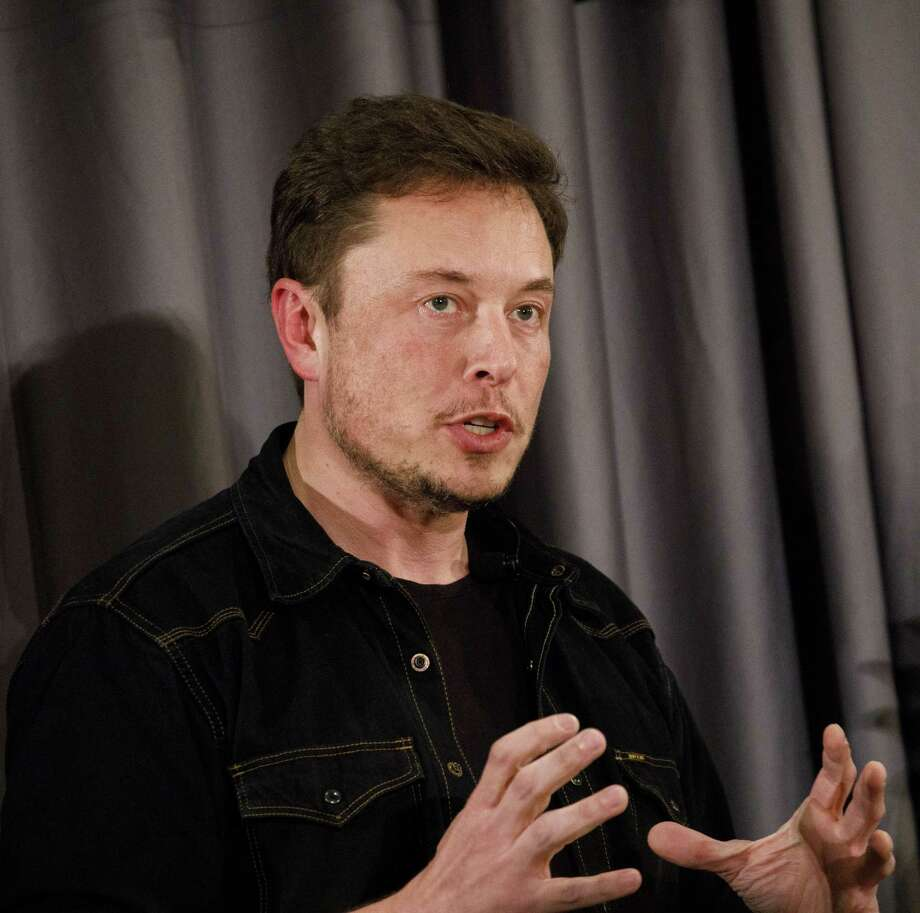 Tesla CEO Elon Musk in Los Angeles on May 17, 2018. Photo: Bloomberg Photo By Patrick T. Fallon. / © 2018 Bloomberg Finance LP