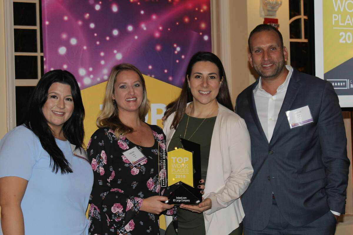 The winners of Hearst Connecticut Media Group's 2018 Top Workplaces awards were celebrated on Thursday, September 27, 2018.