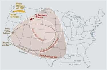 California Supervolcano May Be As Dangerous As Yellowstone S Sfgate