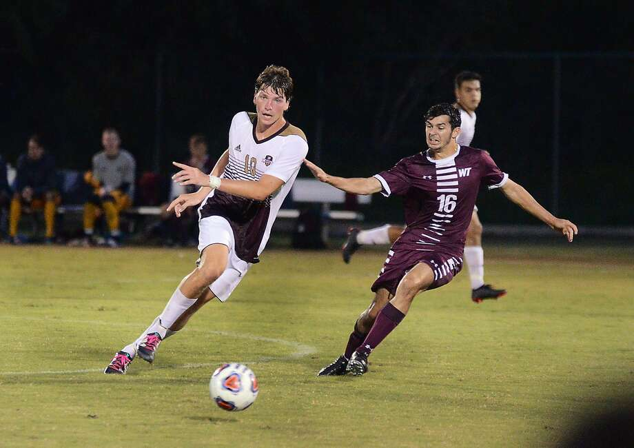 Leading scorer Rafael Montabes and the Dustdevils soccer team have an important week as the group is in the thick of the race for one of the six spots in the Heartland Conference Tournament field with four games remaining. Photo: Cuate Santos /Laredo Morning Times File / Laredo Morning Times