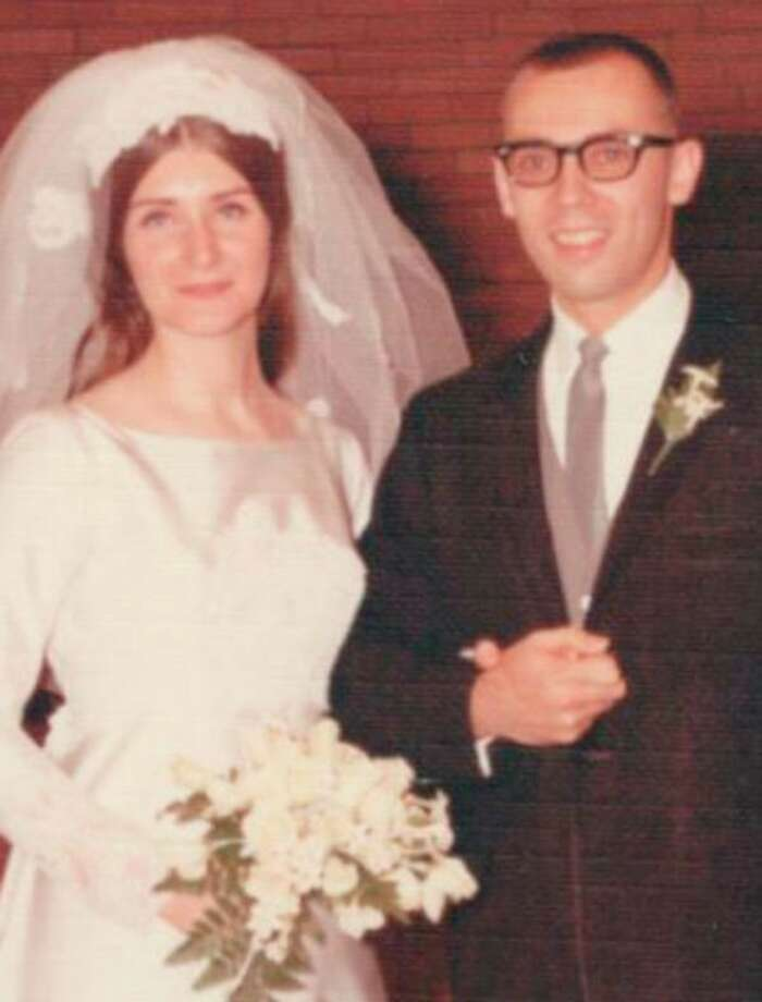 The couple in 1968