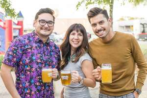 San Antonio gathered for the fall tradition of Oktoberfest held at the Alamo Beer Company on September 27, 2018.