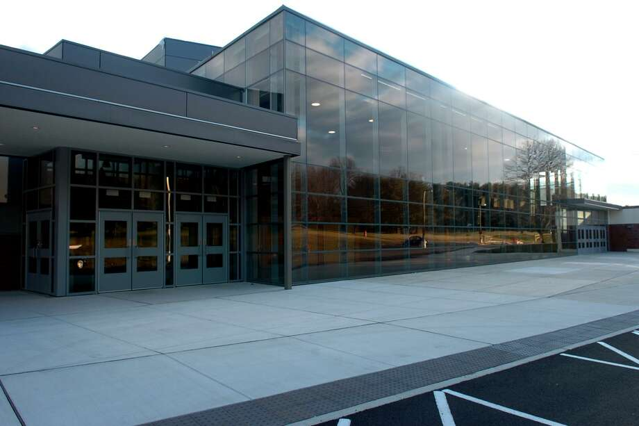 Trumbull High School- closed after several inches of rain created water damage - will reopen on Monday, Oct. 1, 2018. The National Weather Service says the town received more than 7 inches of rain on Tuesday, Sept. 25, 2018. Trumbull High School has been closed since Wednesday, Sept. 26, 2018. Photo: Ned Gerard / Ned Gerard / Connecticut Post