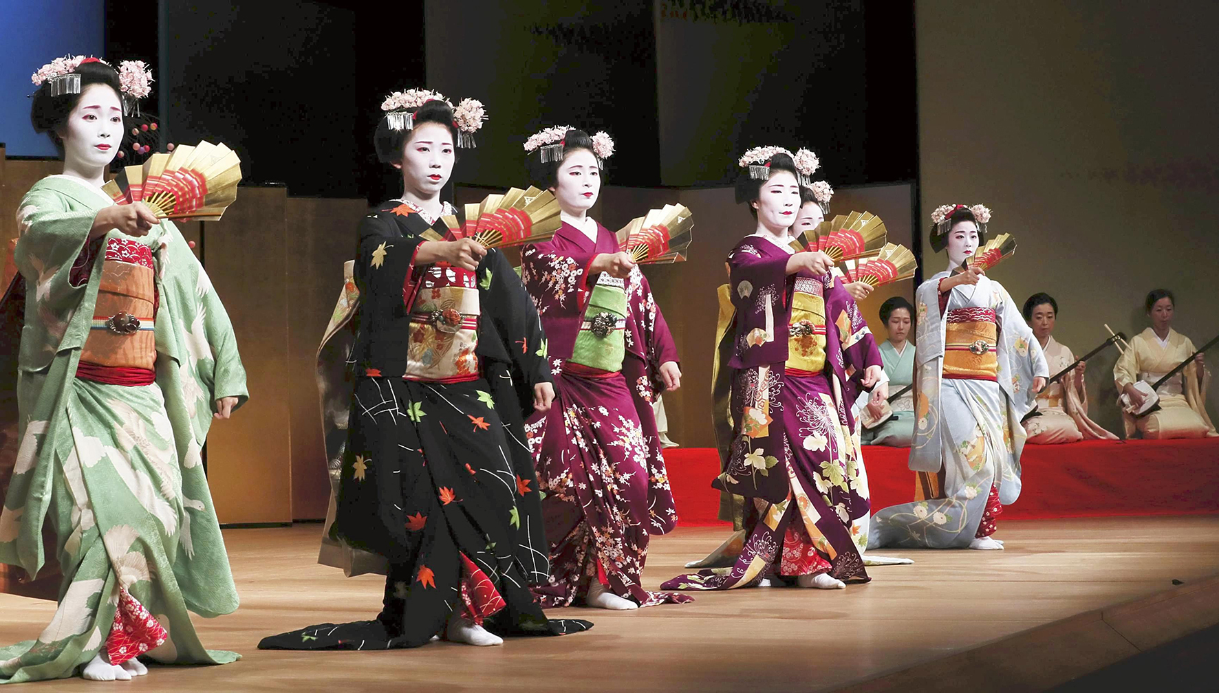японский танец в картинках собак