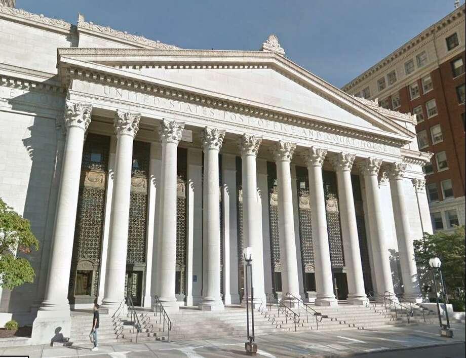 The Richard C. Lee Court House in New Haven, Conn. (Screenshot via Google Earth)