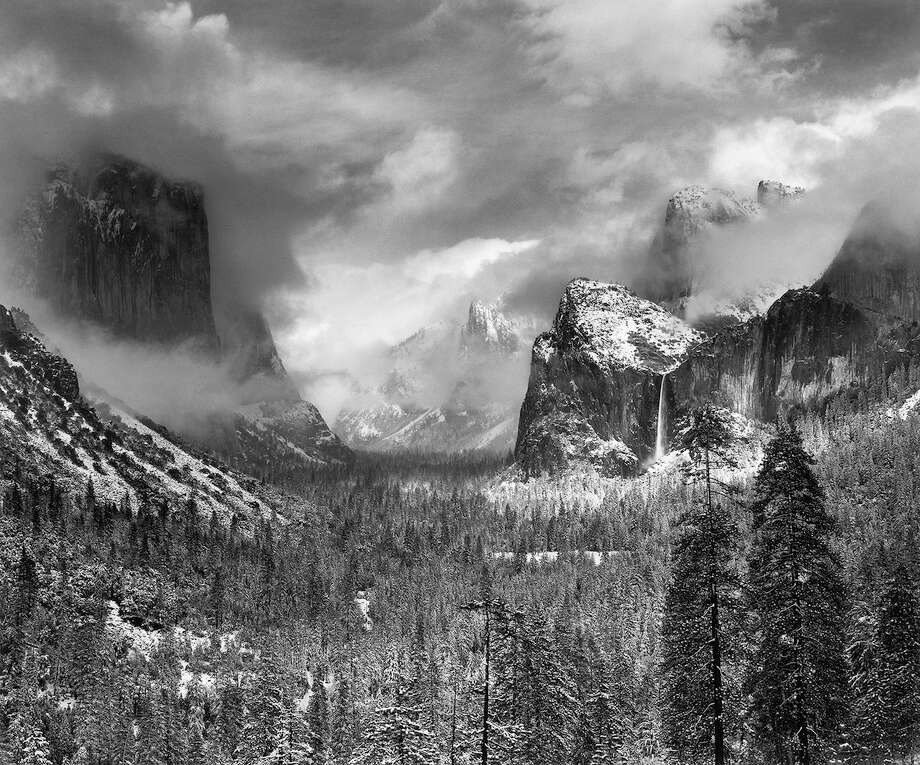 Collection of Ansel Adams photographs given to the ... Ansel Adams Clearing Winter Storm Yosemite