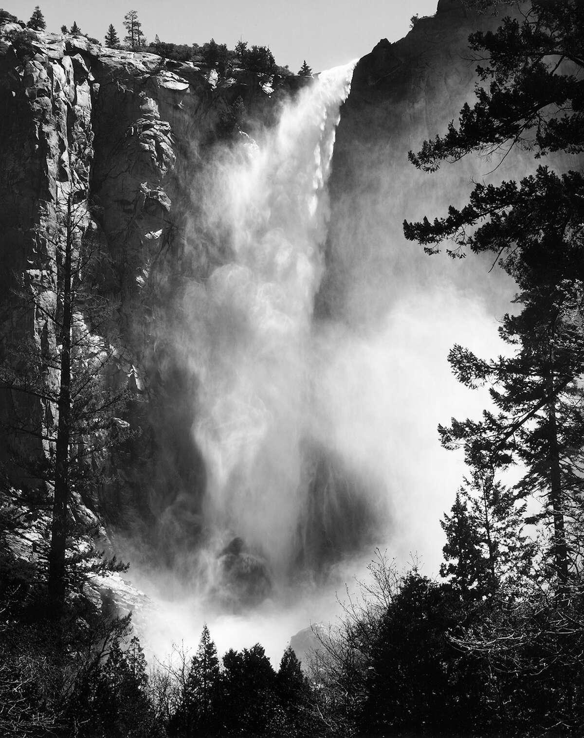 Bridalveil Fall in Yosemite National Park has a drop of 620 feet.