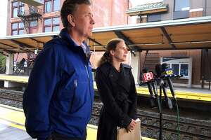 Ned Lamont and Susan Bysiewicz, Democratic nominees for governor and lieutenant governor, in a file photo, on Friday called on Republican Bob Stefanowski to make a public statement on Brett Kavanaugh's nomination to the U.S. Supreme Court.
